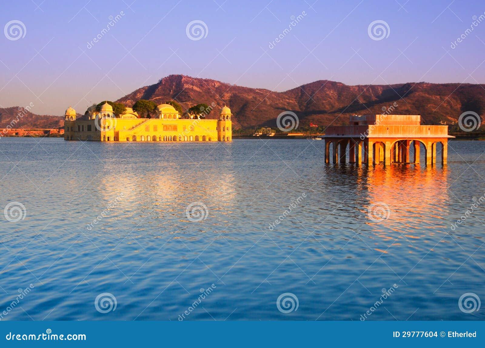 Palais de l eau à Jaipur
