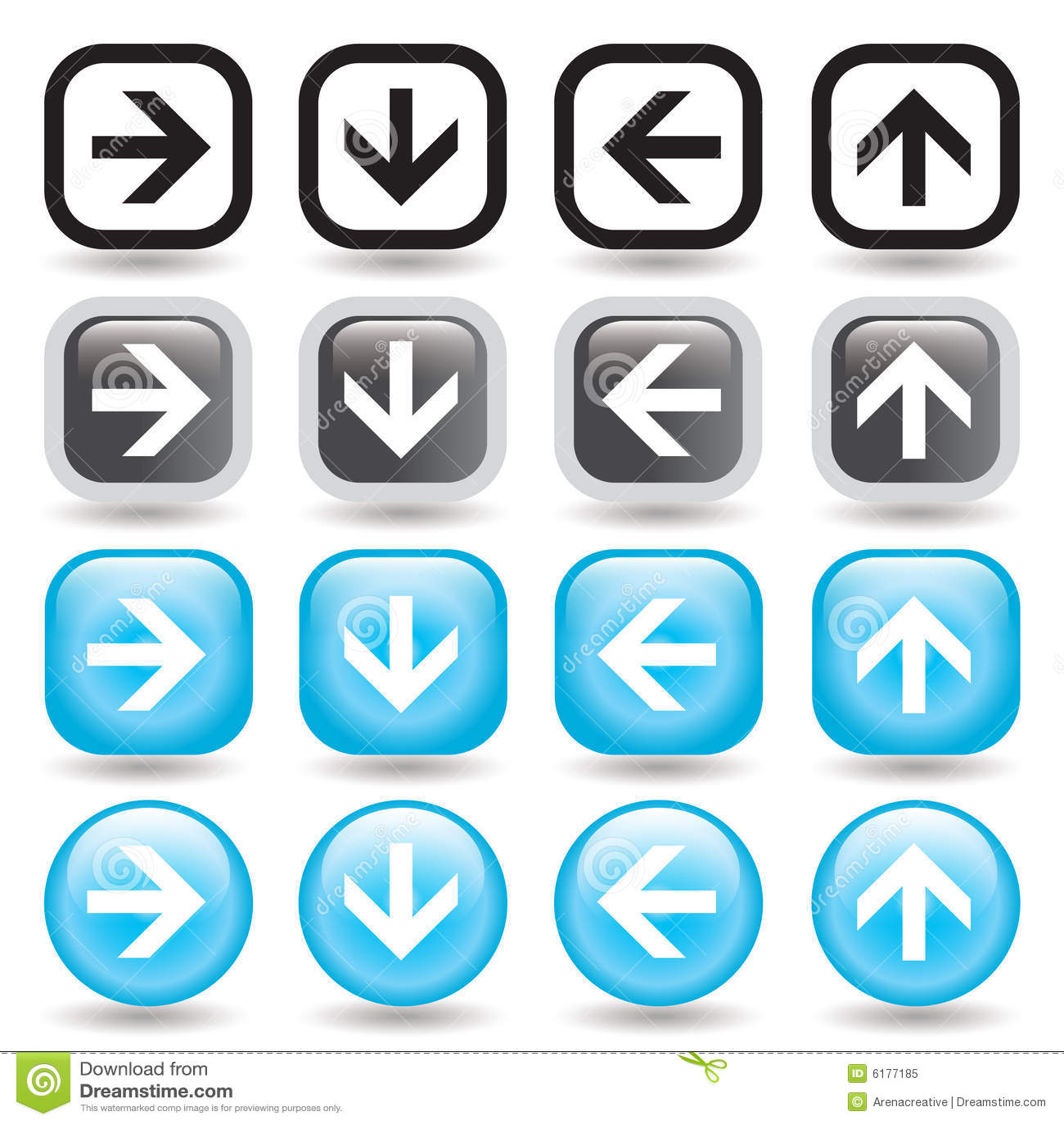 Arrow Button Set