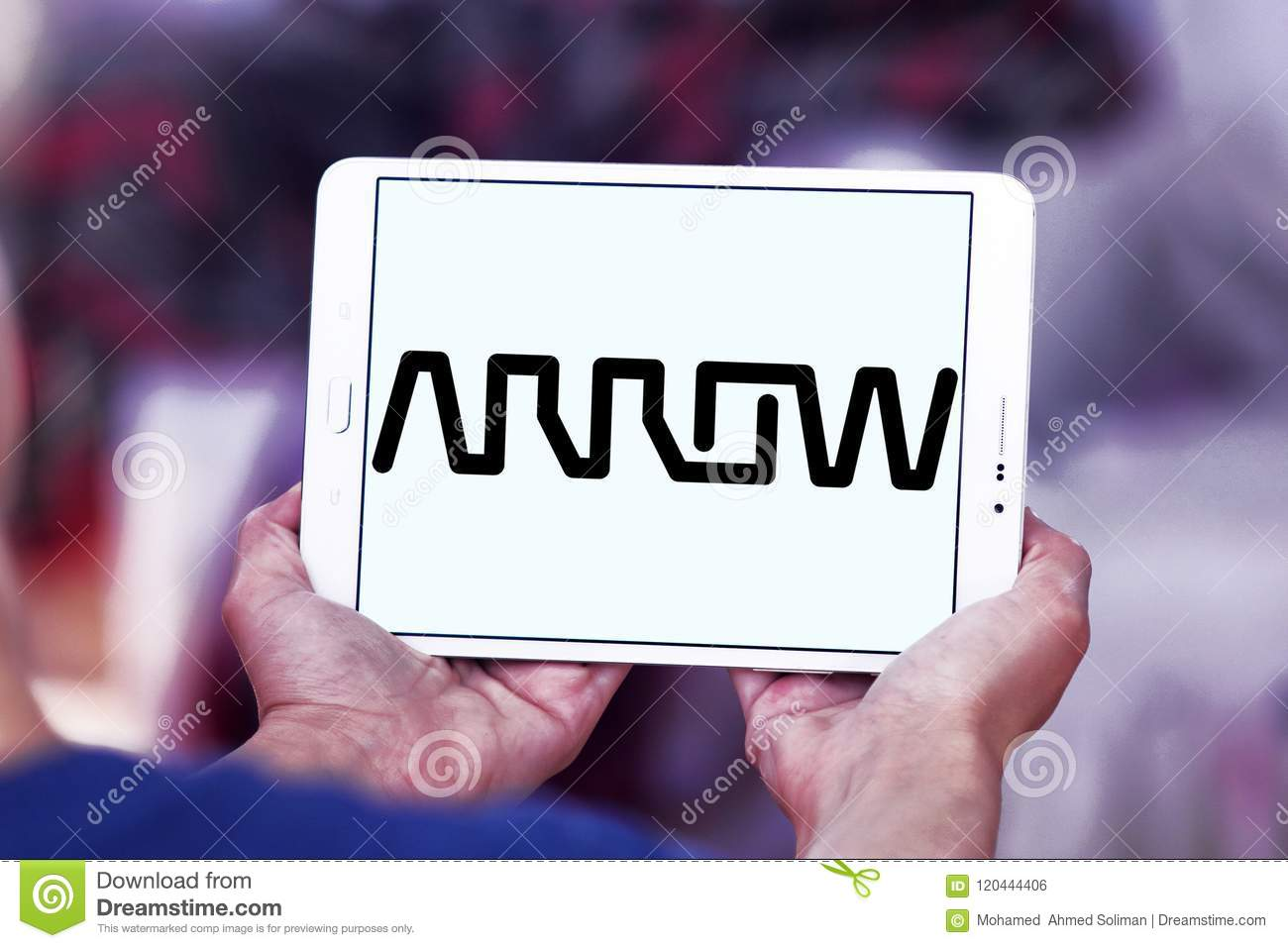 Arrow Electronics-Firmenlogo
