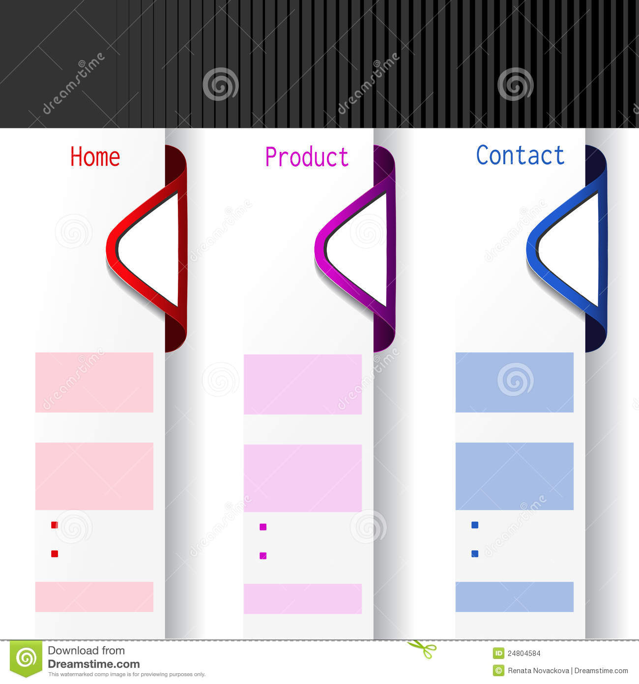 arrow offer labels web template stock vector illustration of