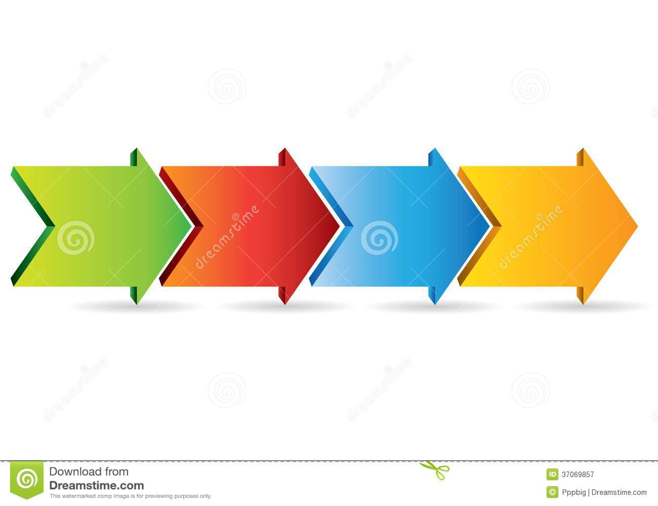 Arrow process diagram stock illustration illustration of marker arrow process diagram royalty free stock photography ccuart Images