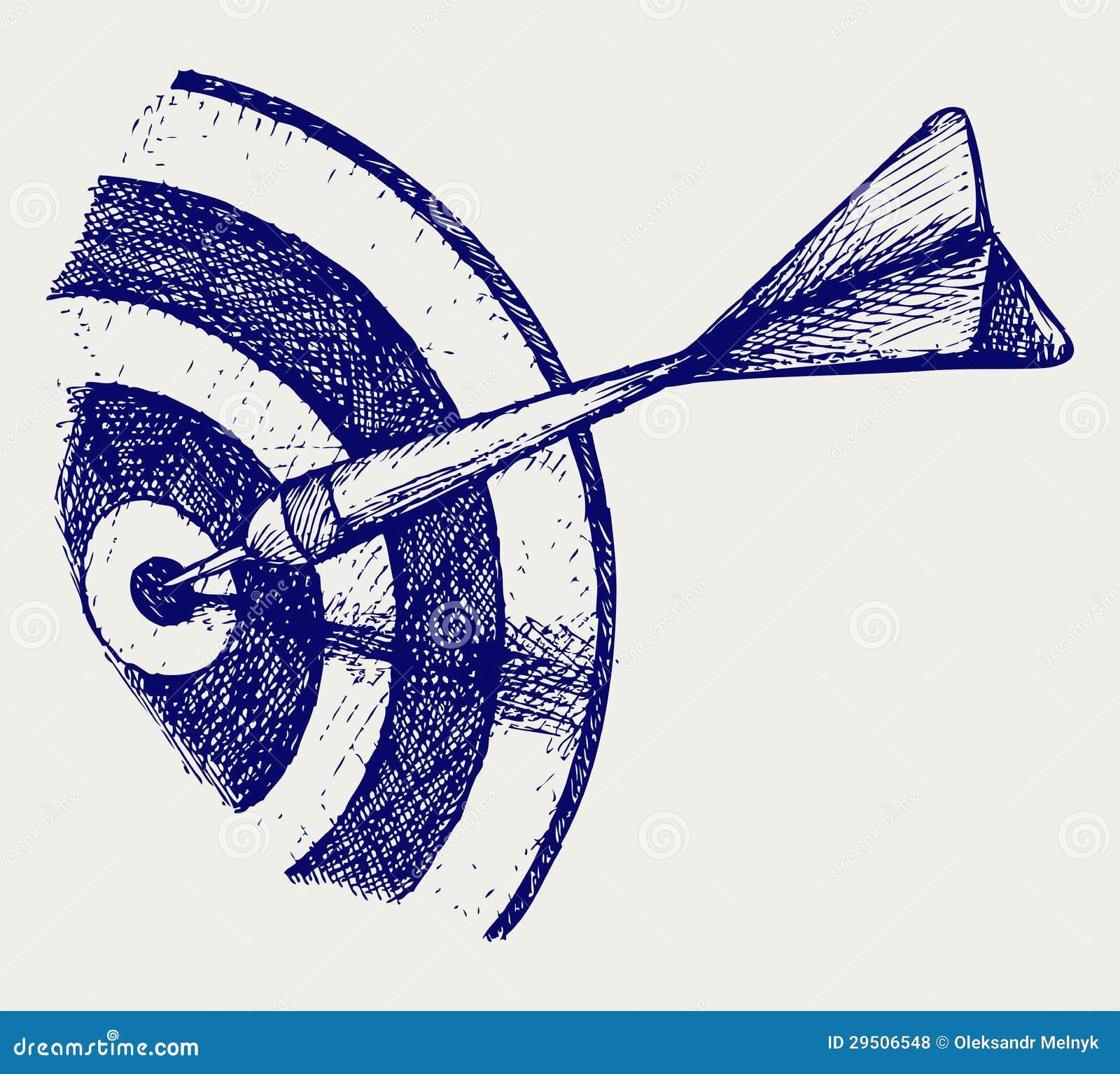 Drawing human ear royalty free stock photography image 25570937 - Arrow In Target Royalty Free Stock Photos