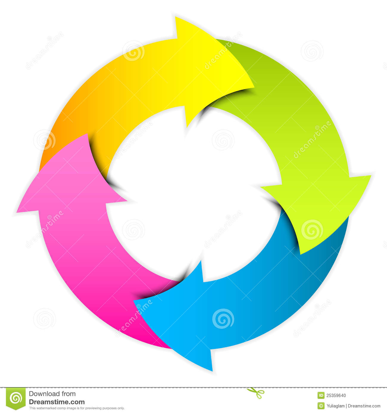 clipart arrows in a circle - photo #34