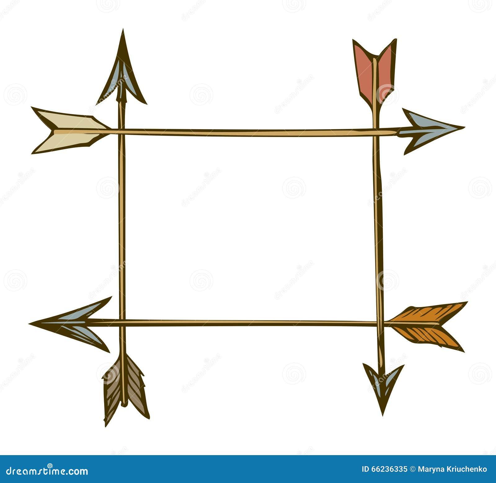 Arrows Vector Drawing Stock Vector
