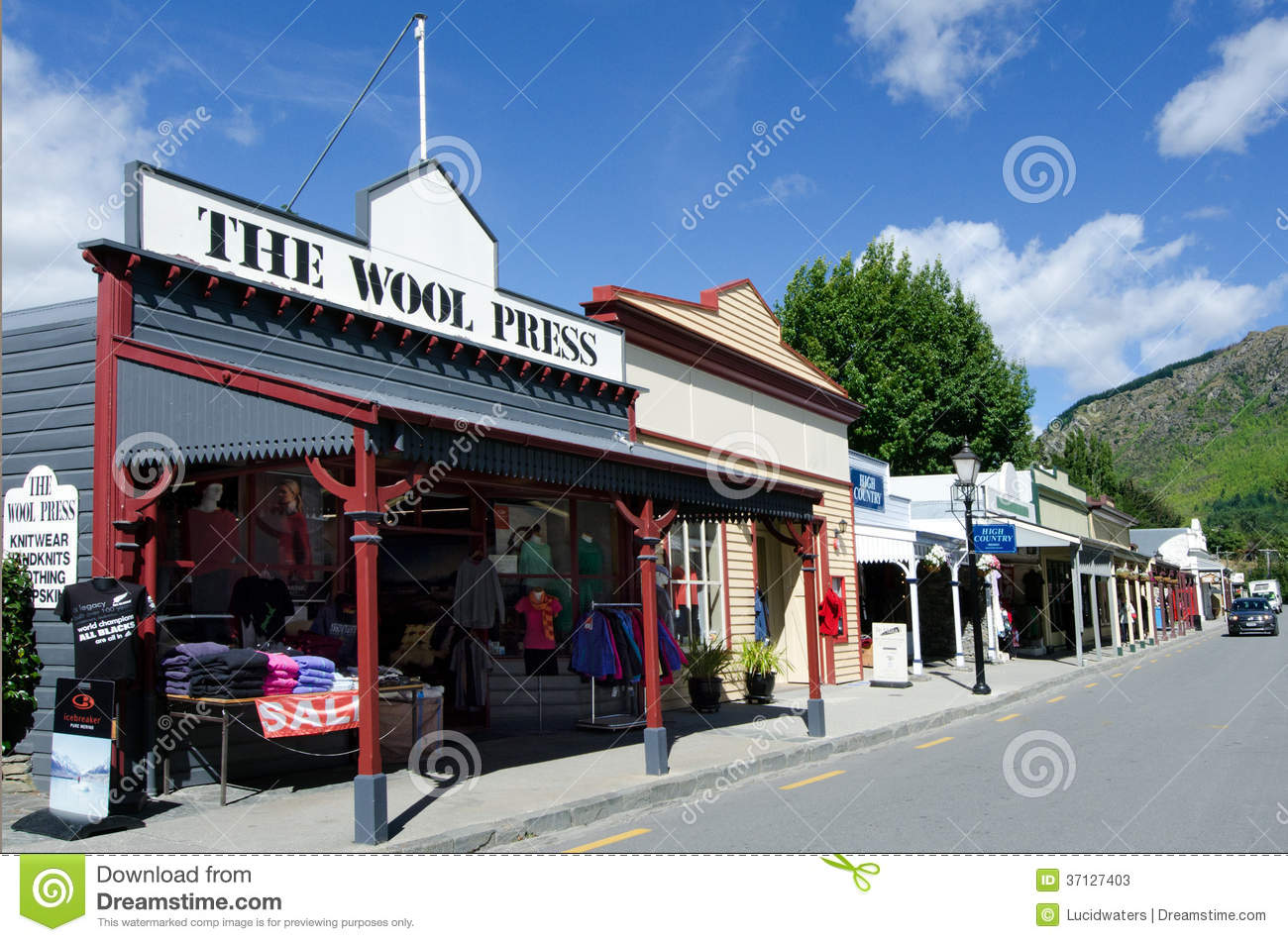 Arrowtown - New Zealand Editorial Stock Photo - Image ...