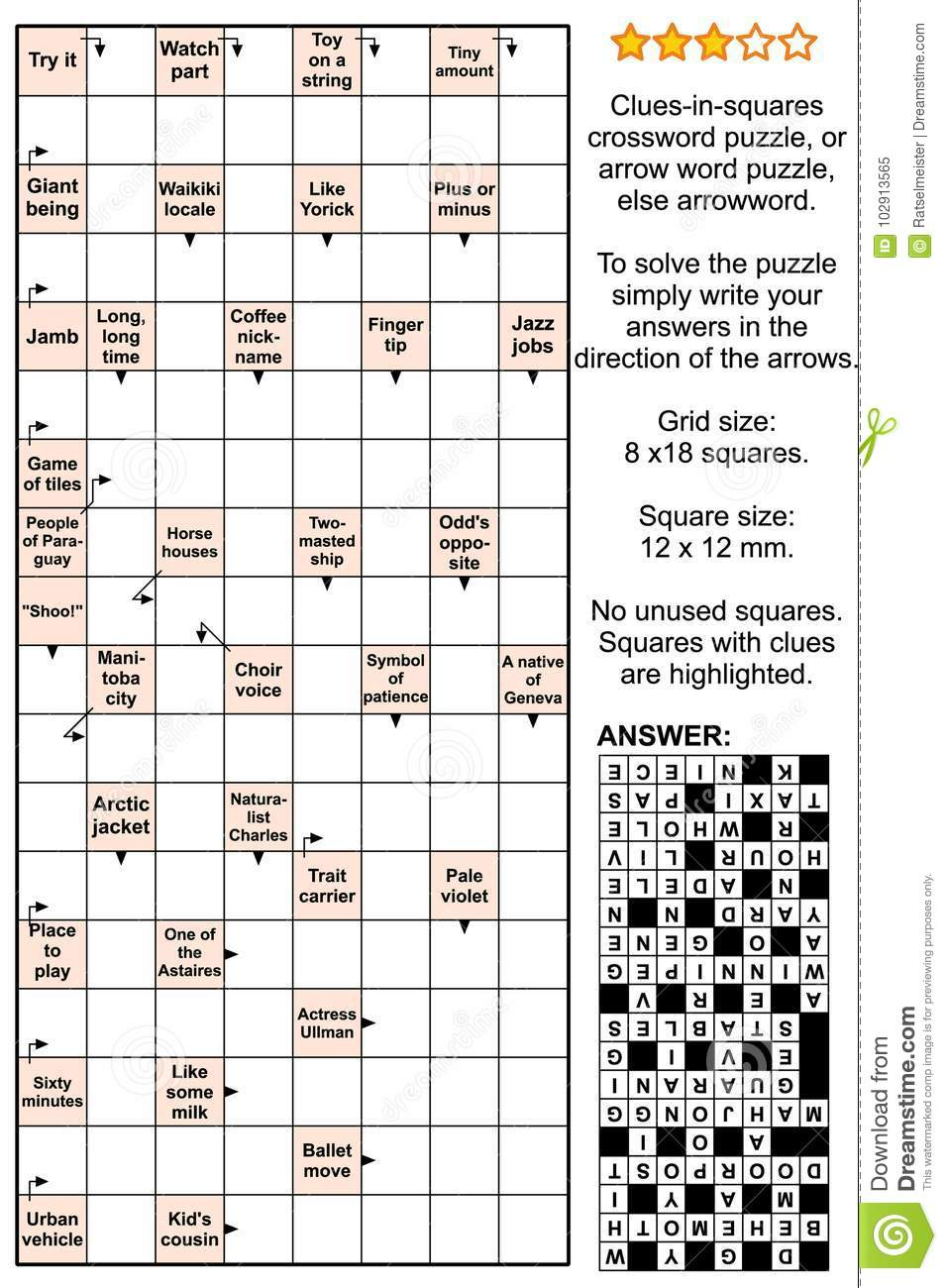 Added new interests: verbal puzzles, Solution Scanword Filled 9