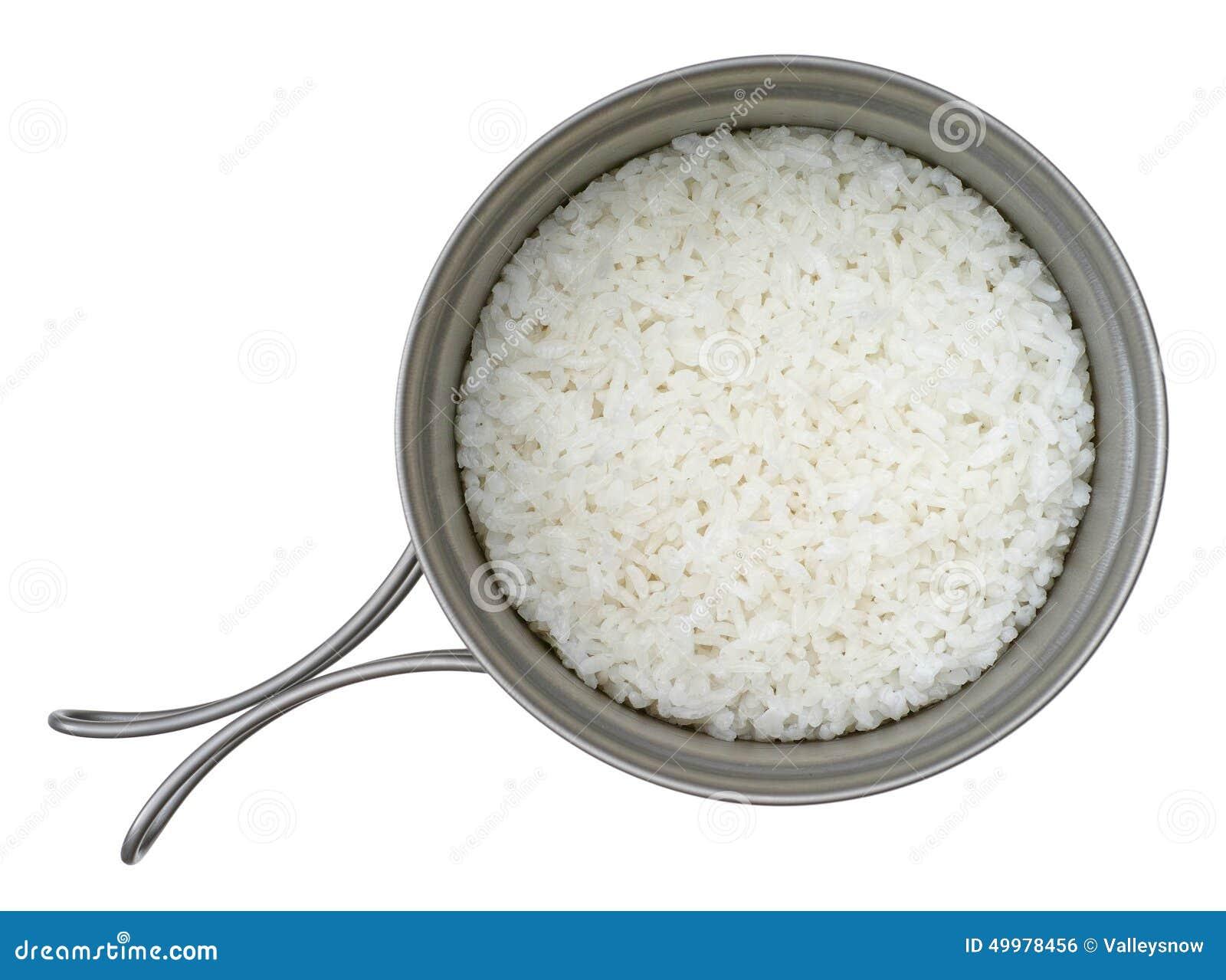 Arroz cozinhado