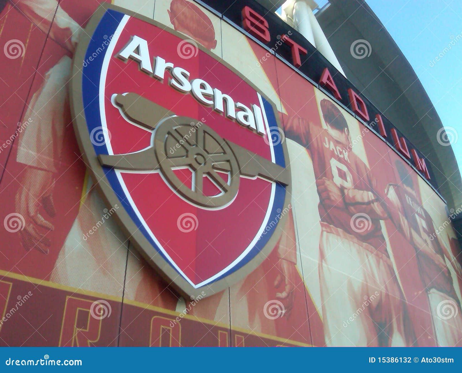 Arsenal Logo editorial...