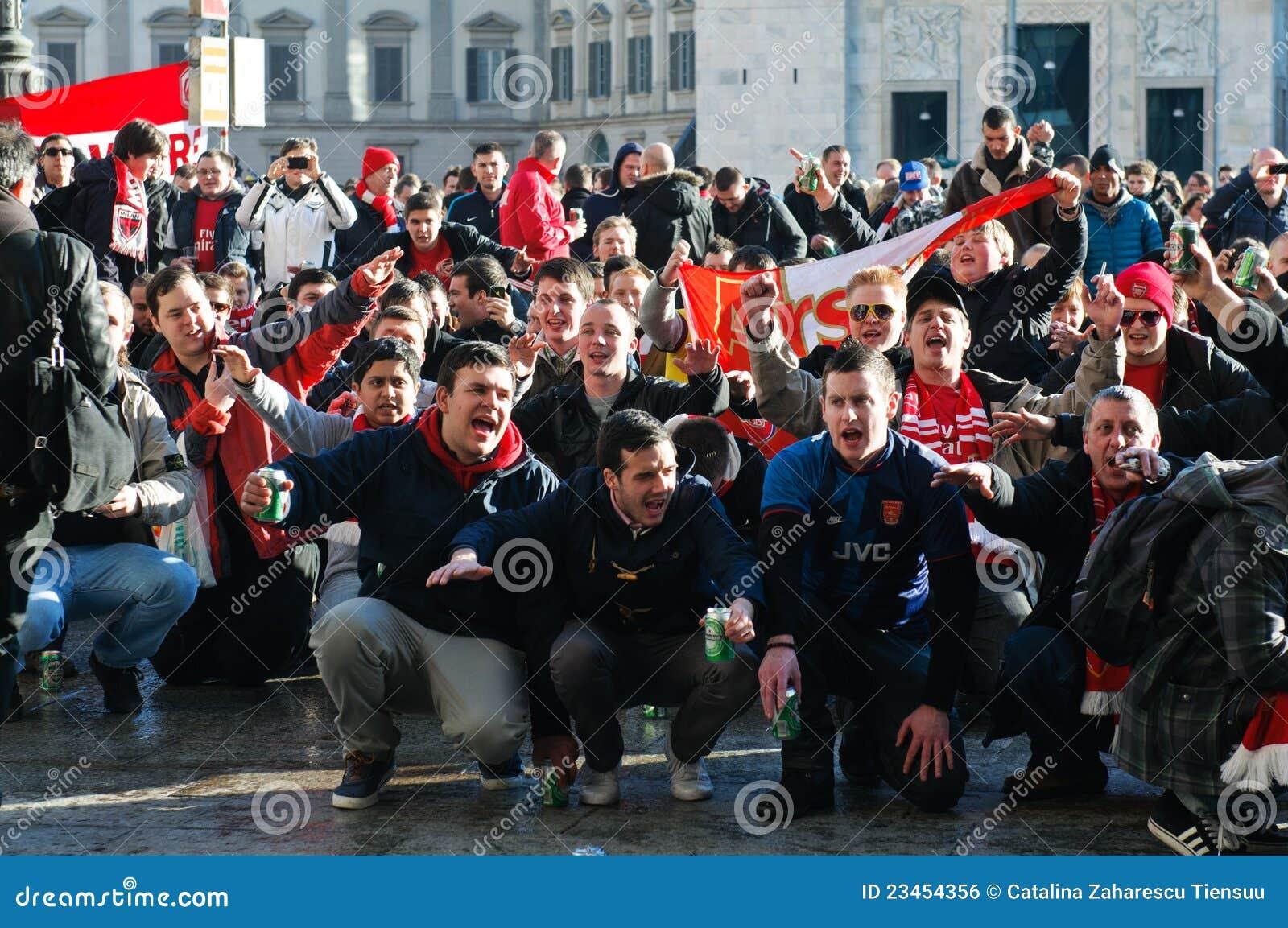 FC Köln supporters invade London! - YouTube