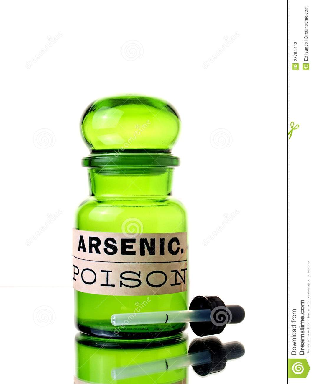 Arsenic Bottle Stock Photos - Image: 23794413