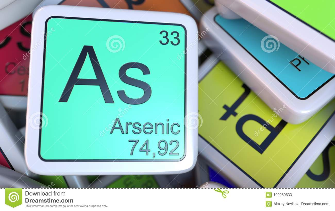 Arsenic as block on the pile of periodic table of the chemical arsenic tag on the pile of periodic table of the chemical elements tags biocorpaavc Image collections