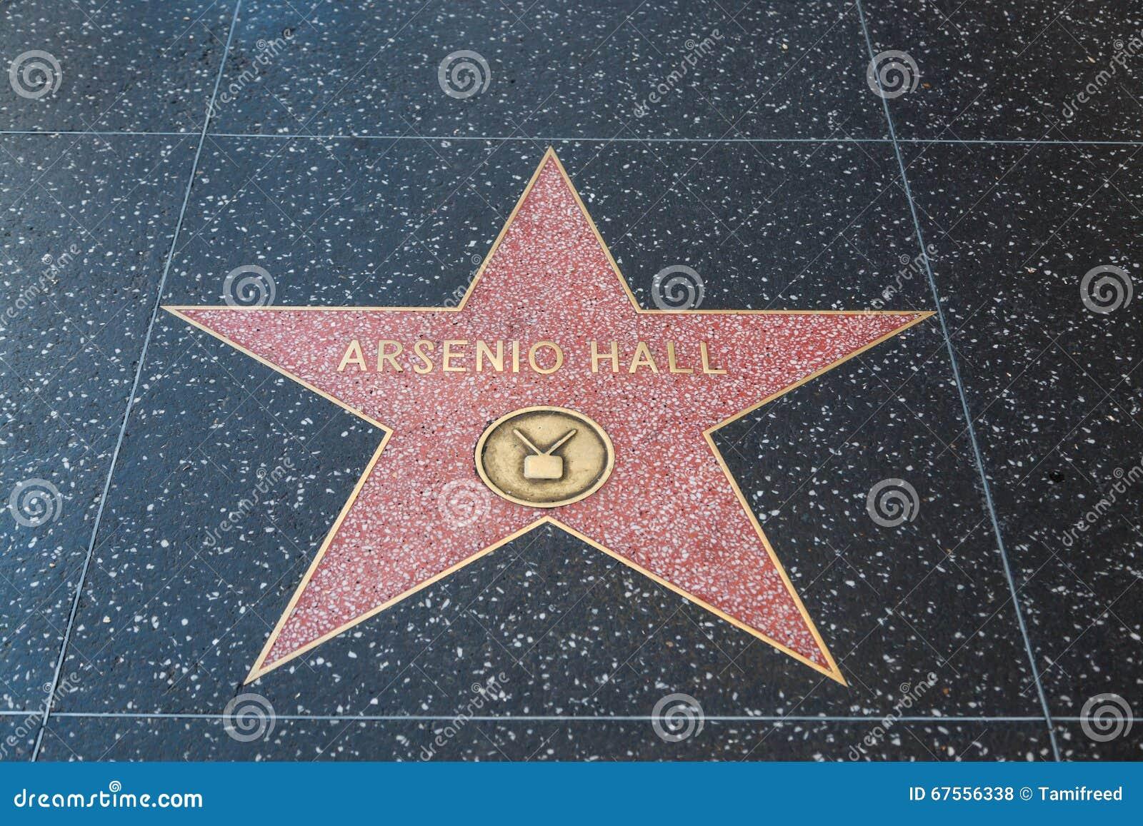Arsenio Hall Hollywood Star