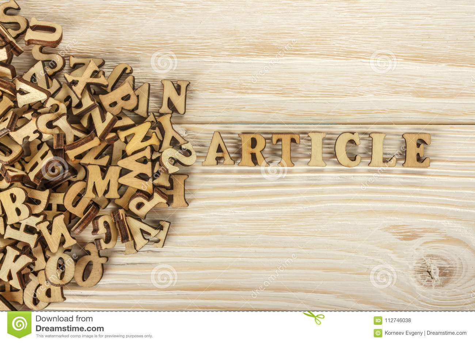 Artículos de la escritura De la pila de letras para crear el texto FO