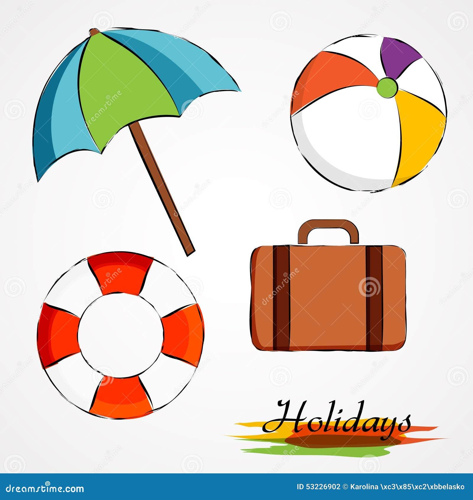 Artículos de las vacaciones de verano
