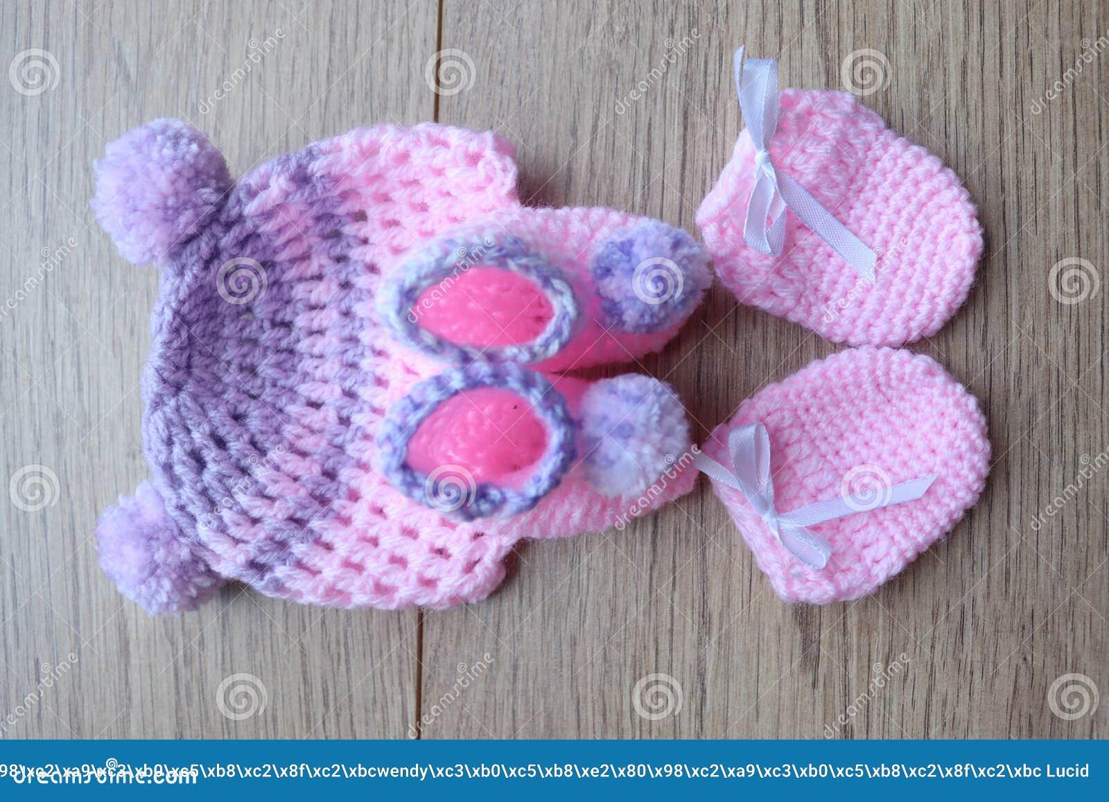 Artículos Del Bebé Prematuro Para La Comodidad Y El Calor Sombrero Y ...