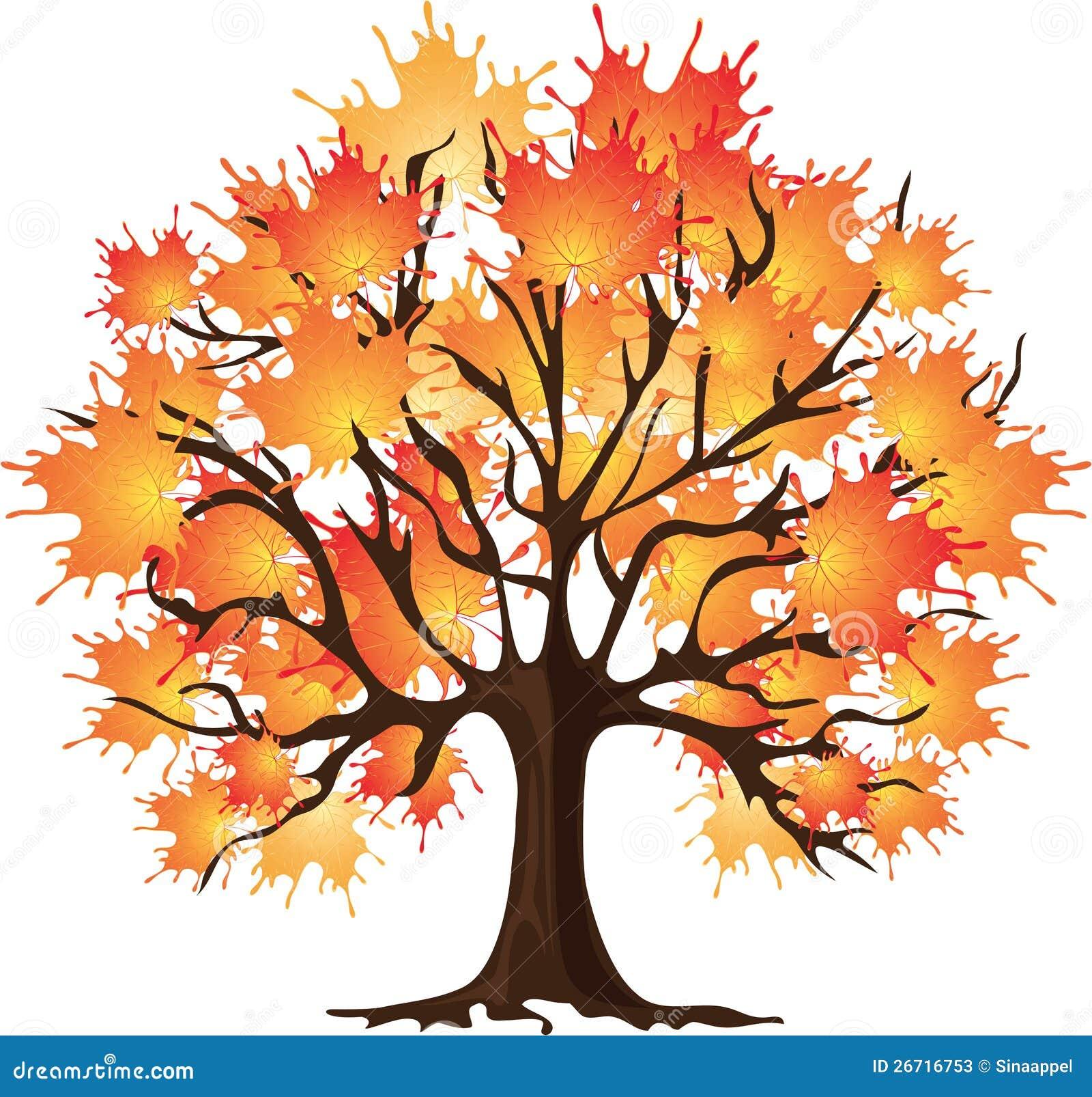autumn tree clipart - photo #41