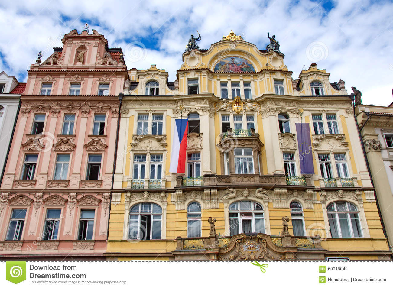 Art of baroque architecture details stock photo image for Pictures of baroque architecture