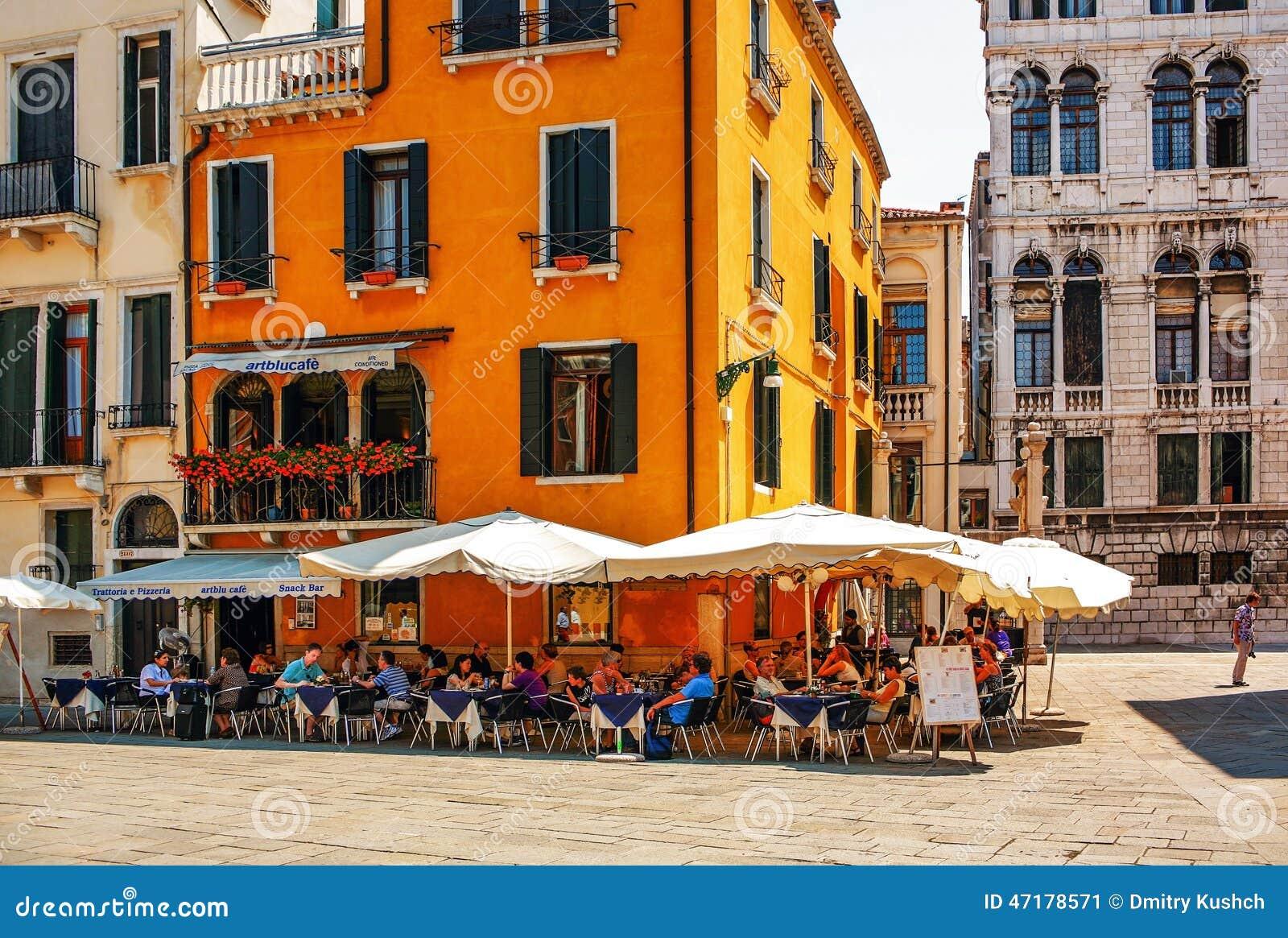 Cafe Blue In Venice