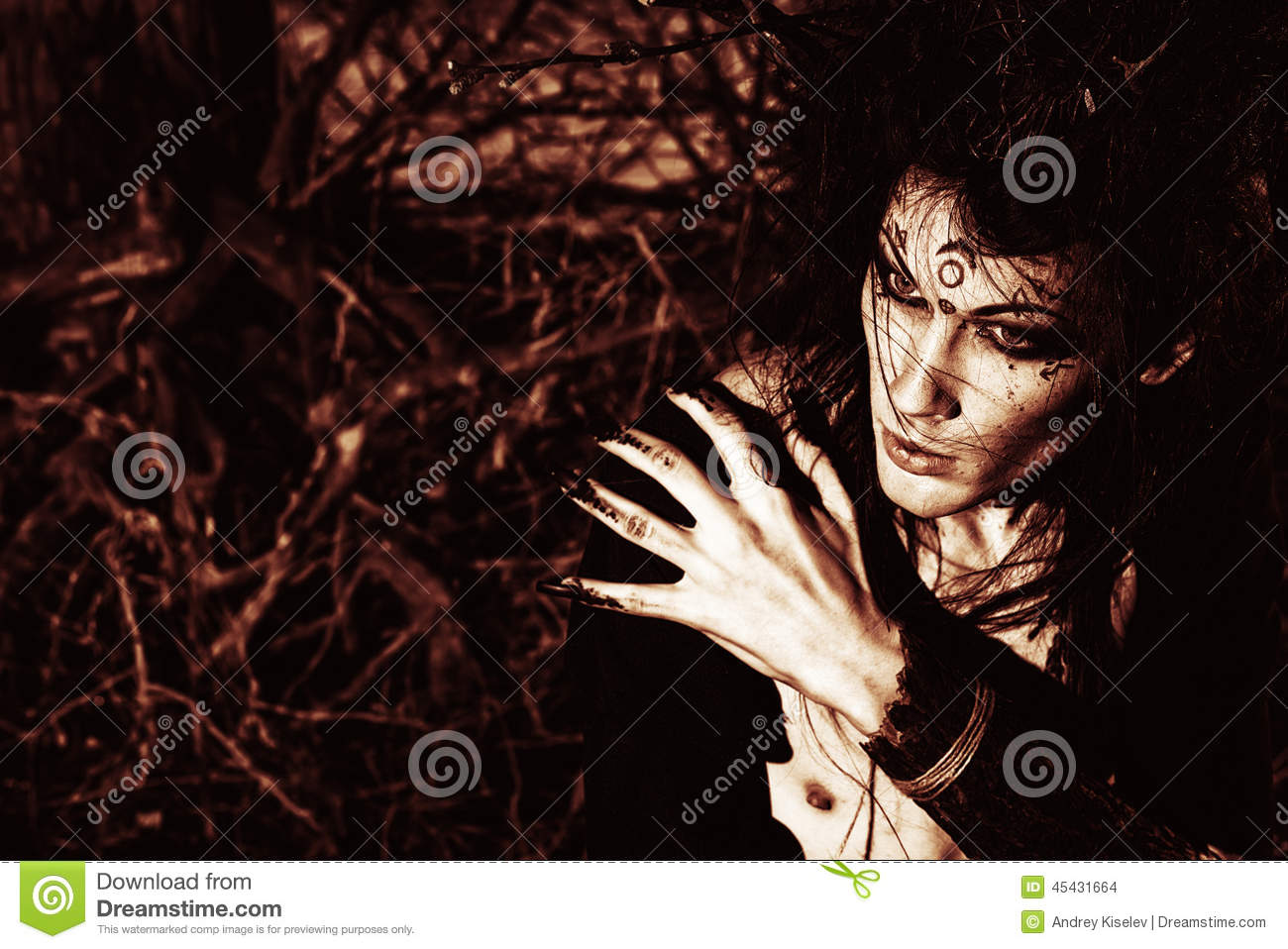 Art Boy Stock Photo Image Of Male Fear Ghost Forest