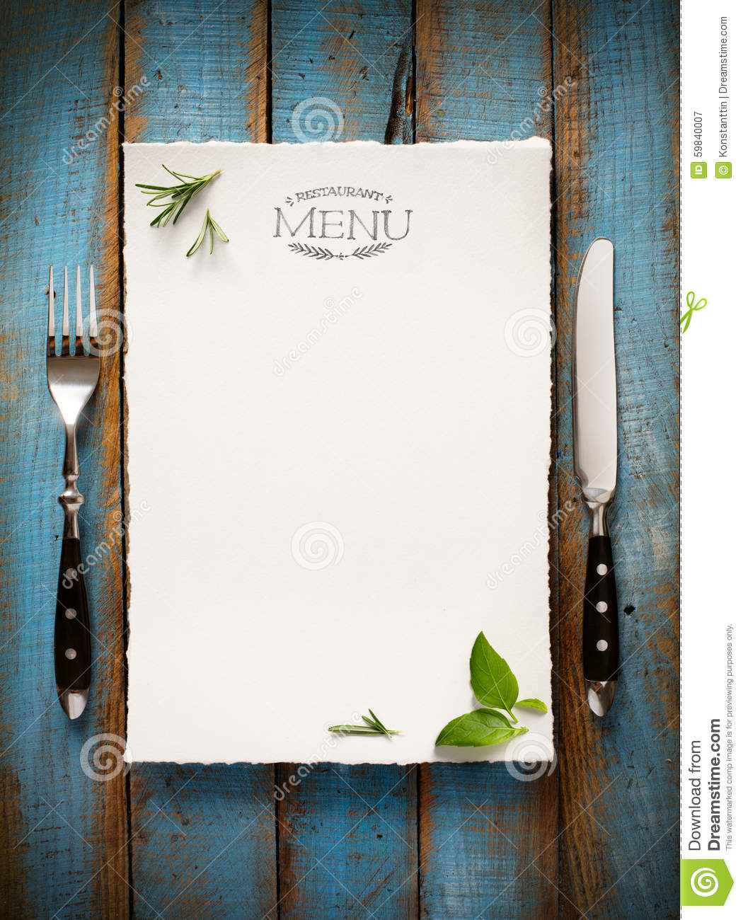 Art Cafe menu restaurant brochure. Food design template