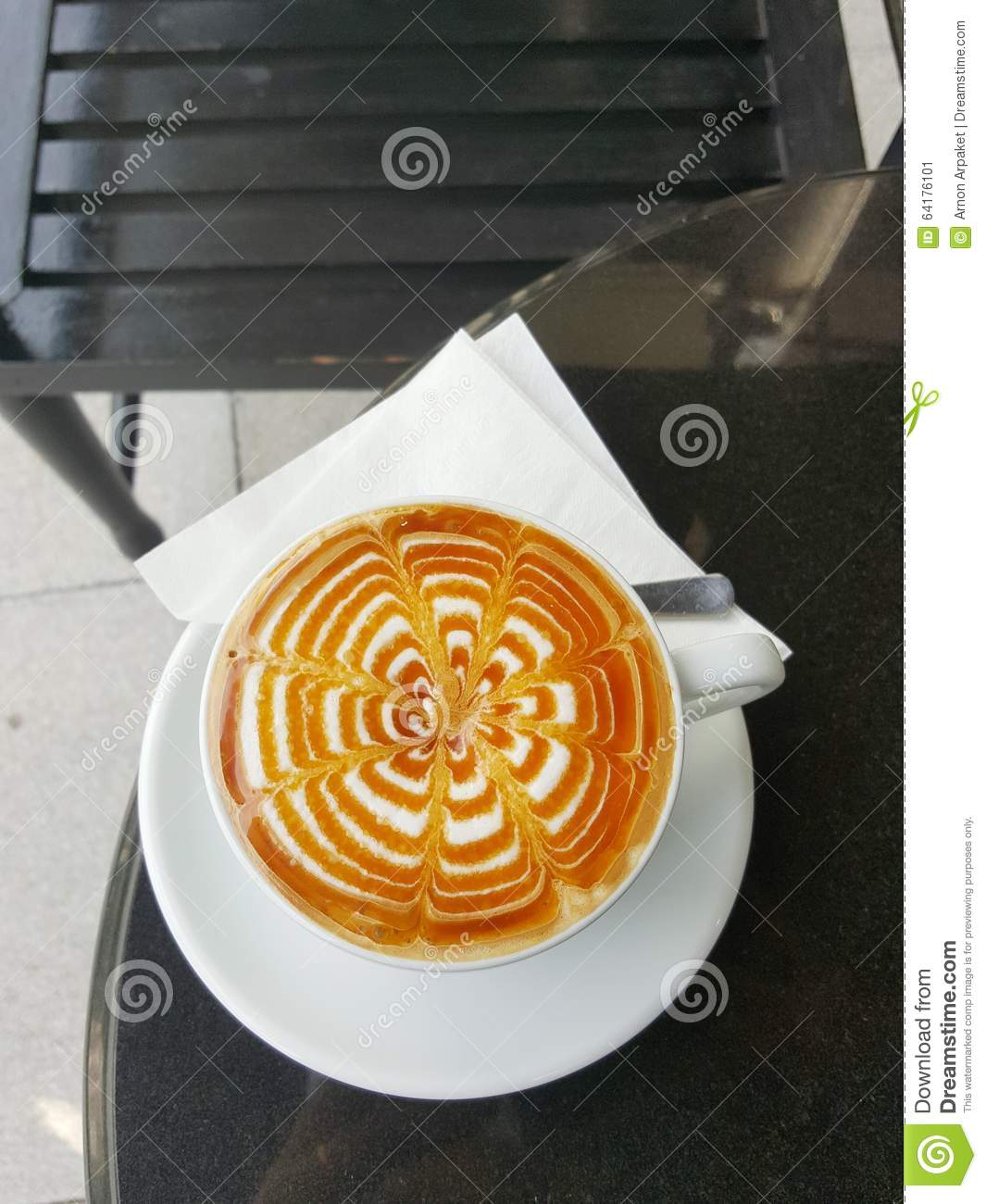 Italian caffe macchiato is made with an espresso and a small amount of milk. In France they have cafe noisette: it's the same, an epresso with a little bit of milk (sometimes cream).But today's caramel macchiato is an American version: an espresso with caramel sauce and significant amount of milk.