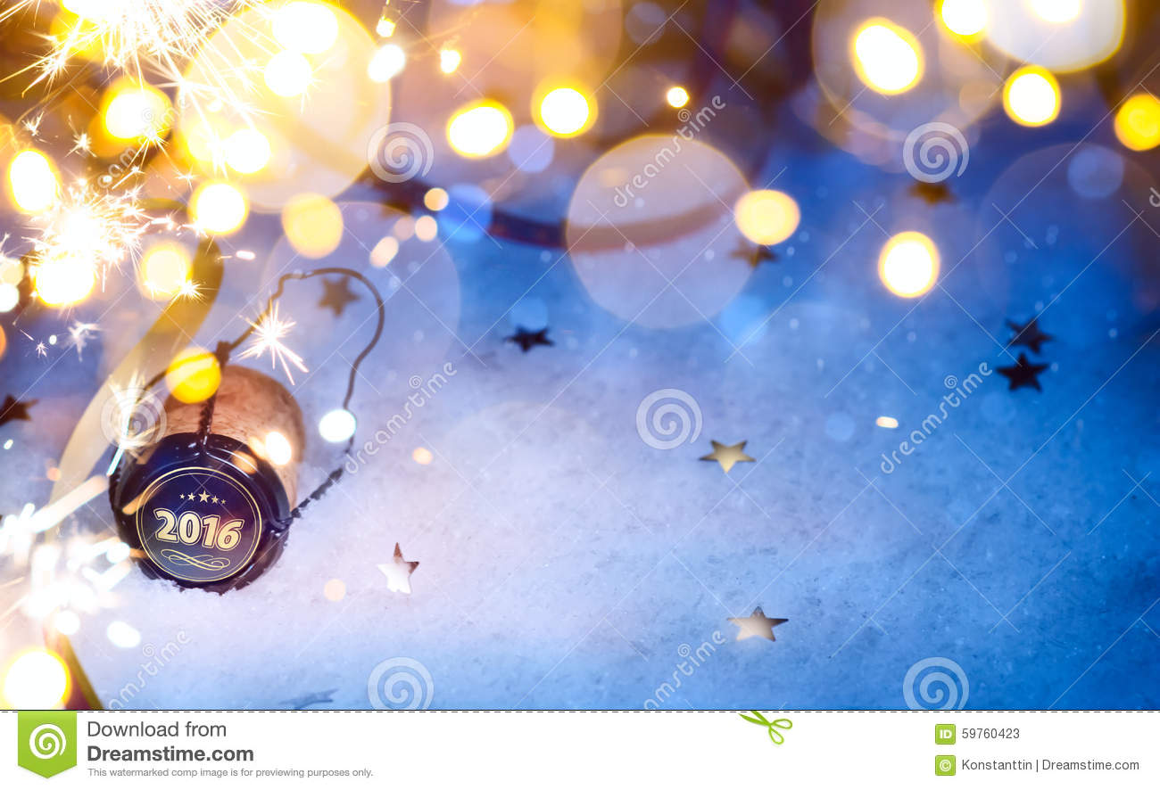 Art Christmas And 2016 New Year Party Background Stock Photo - Image ...