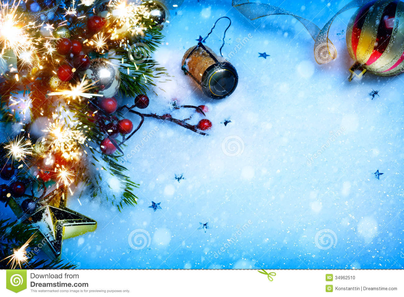 Art Christmas And New Year Party Backgrounds Stock Photo - Image of ...
