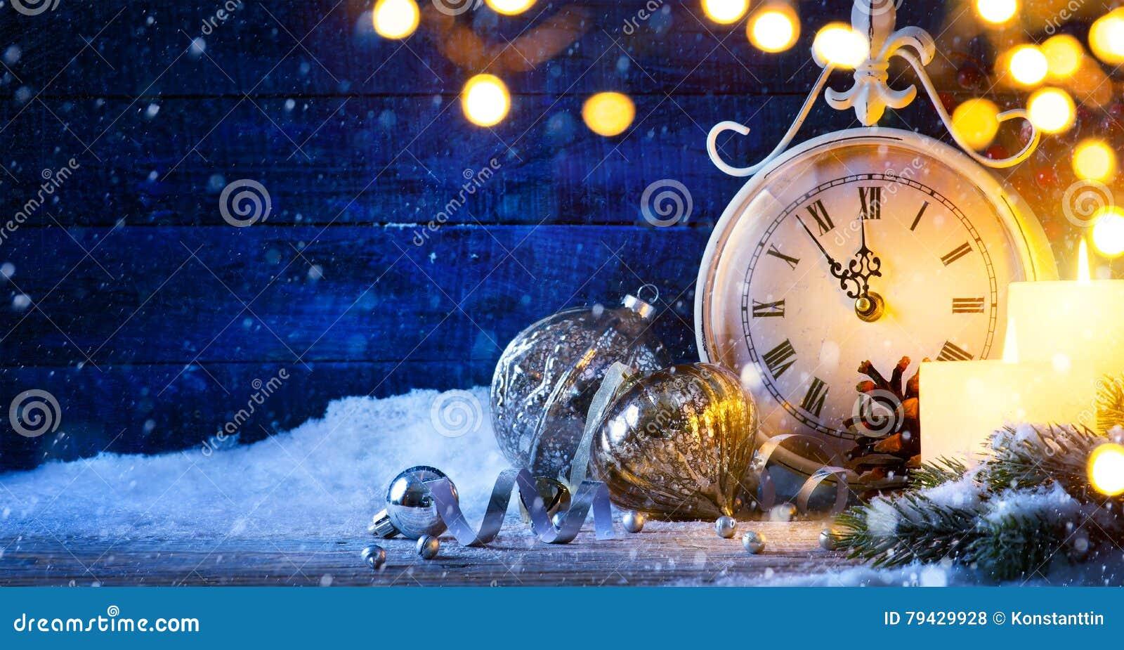 Art Christmas ou nouvelles années de veille ; fond de vacances