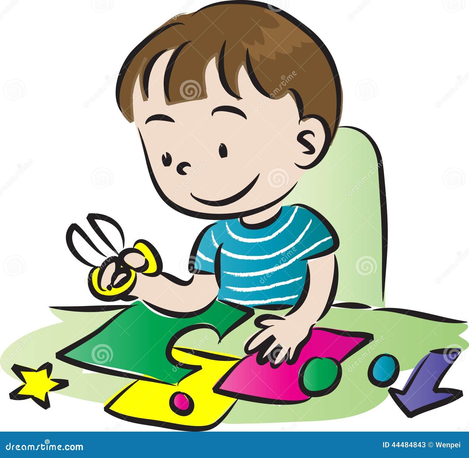 Art And Craft Stock Illustration Illustration Of Child 44484843