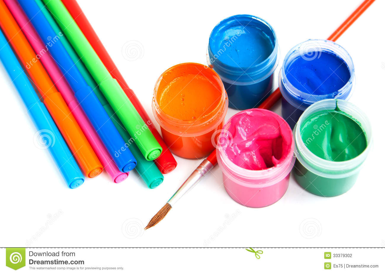 Art And Craft Equipment Stock Photography - Image: 33379302