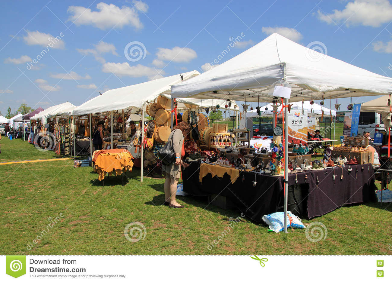 Art and Craft Market editorial image. Image of festival