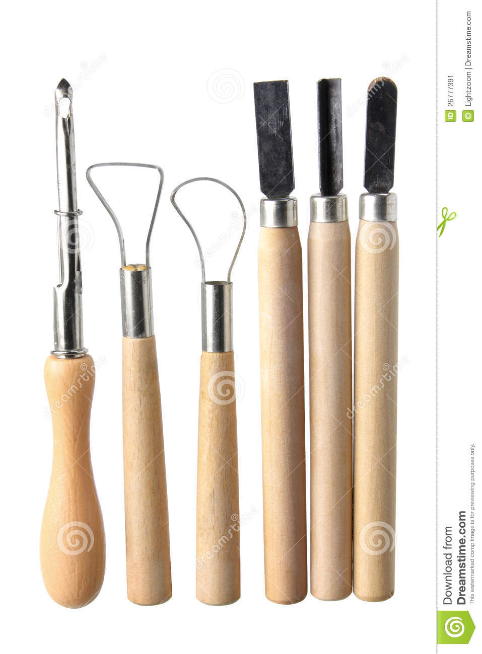 art and craft tools stock image image of clay pottery