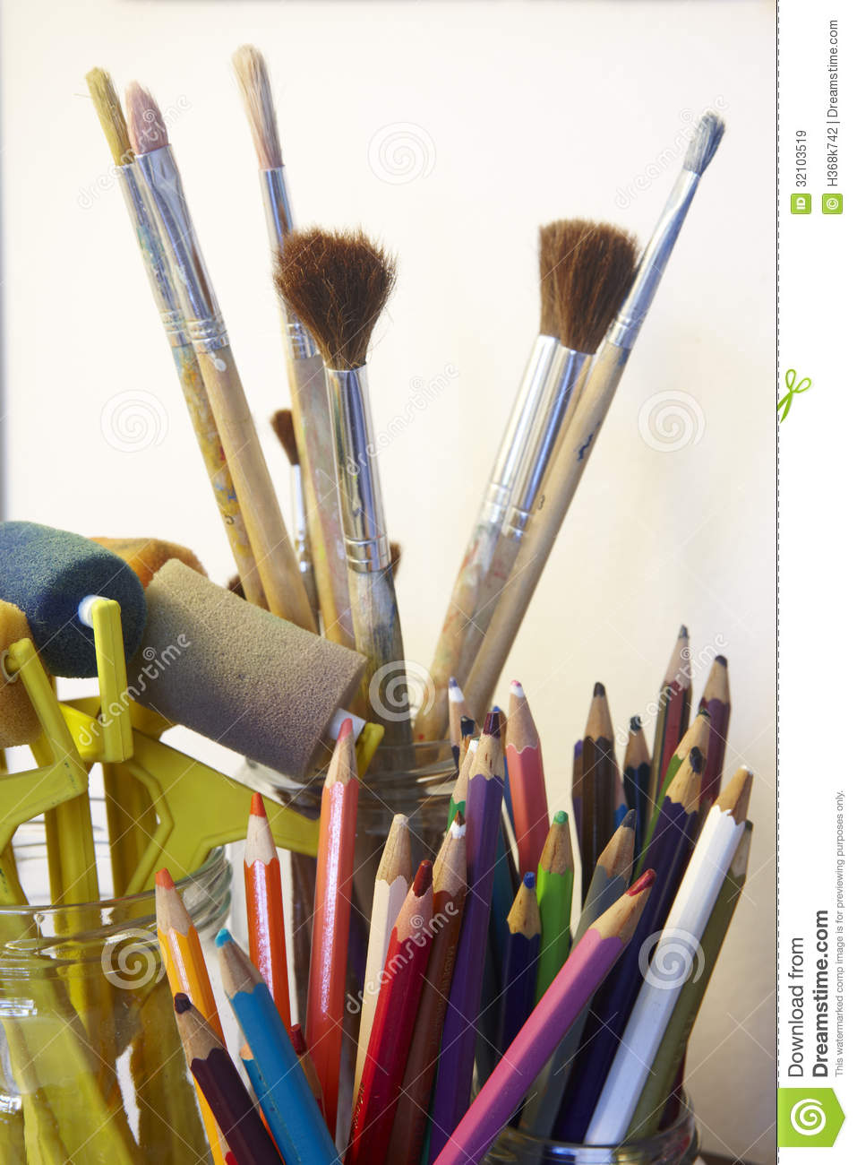 art craft tools royalty free stock images image 32103519