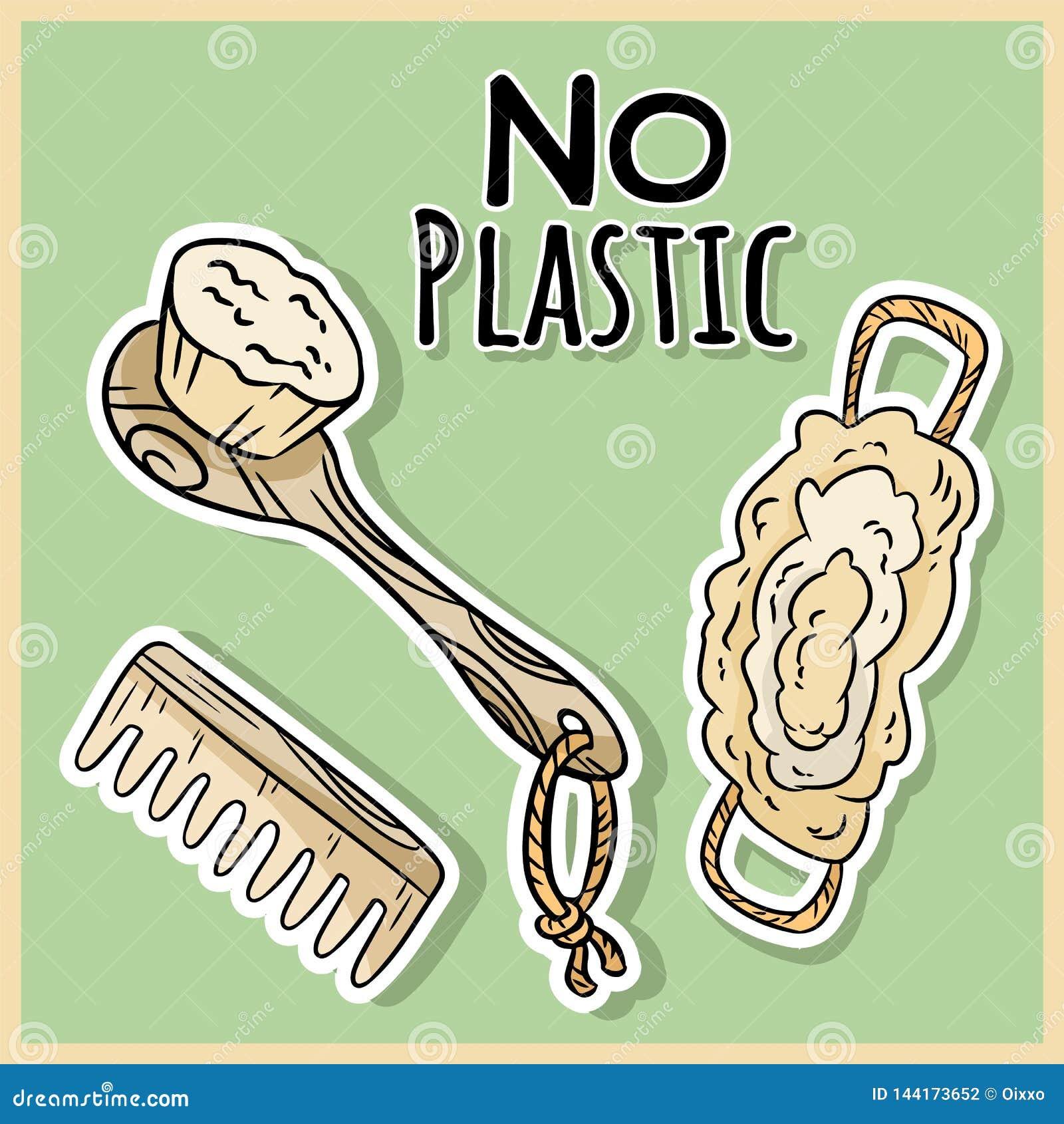 Art?culos materiales naturales de la ducha Producto ecol?gico y de la cero-basura Casa verde y vida pl?stico-libre