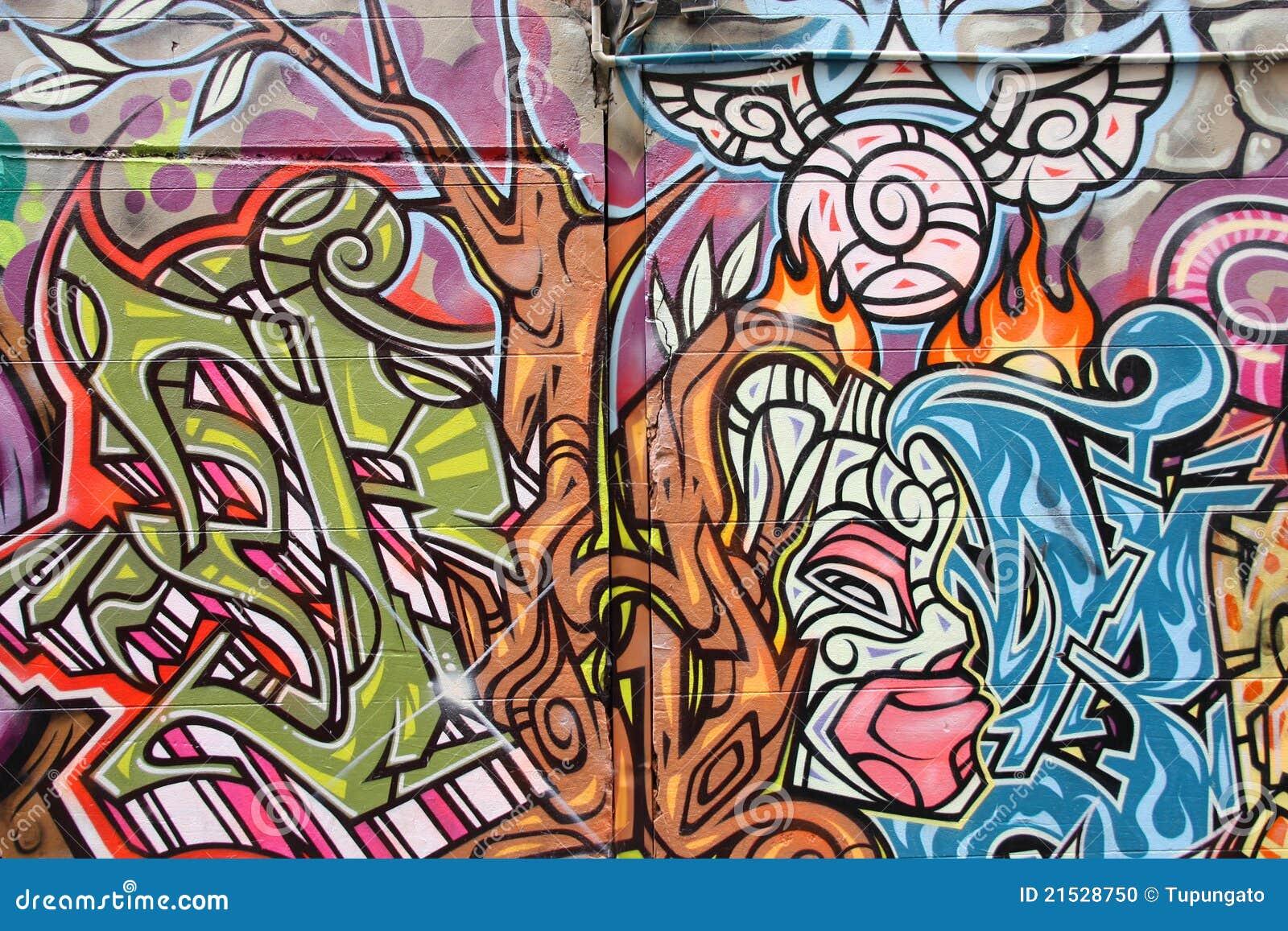 Art de graffiti en Australie