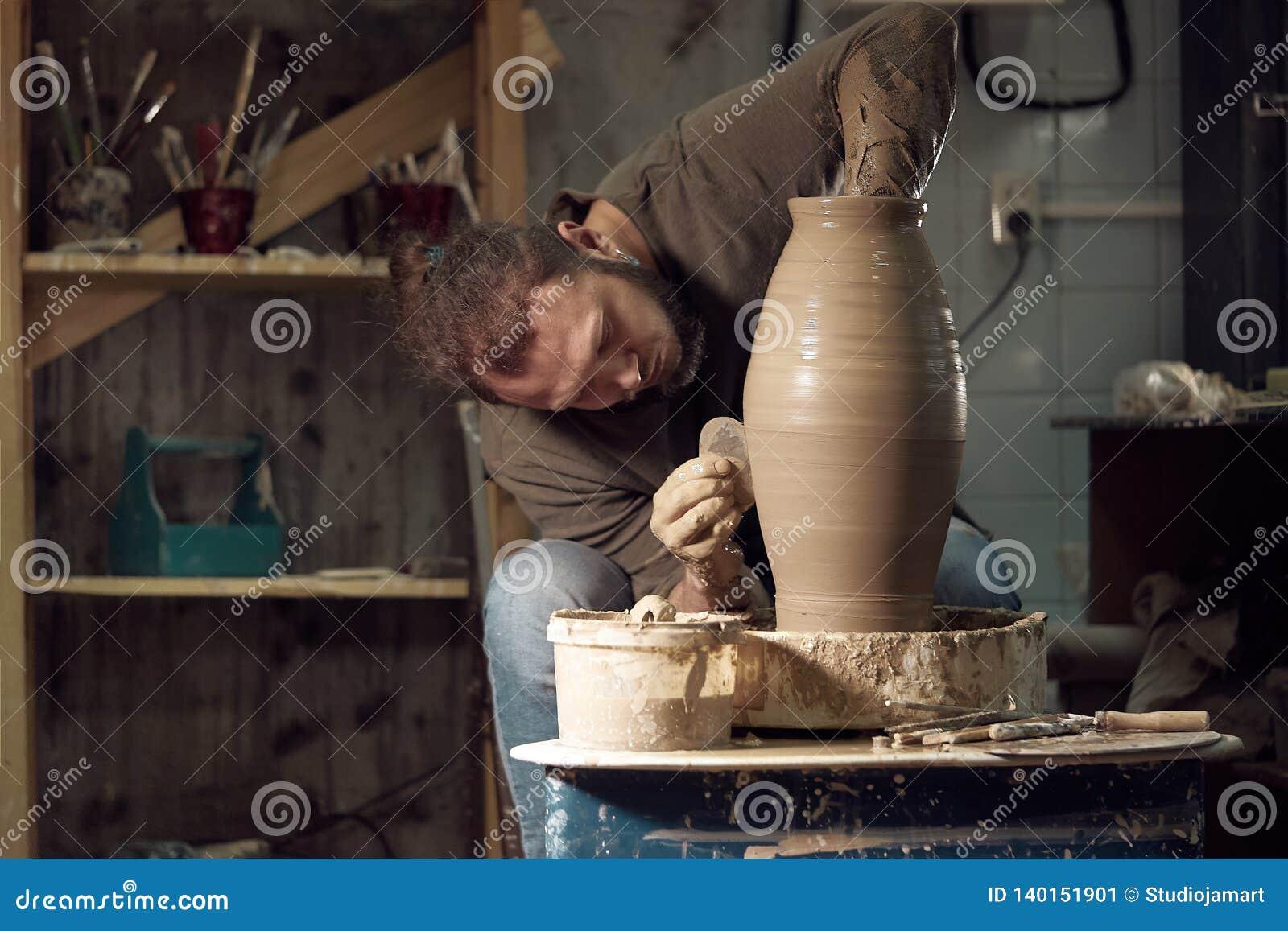 Art de poterie, produit d argile, bâti