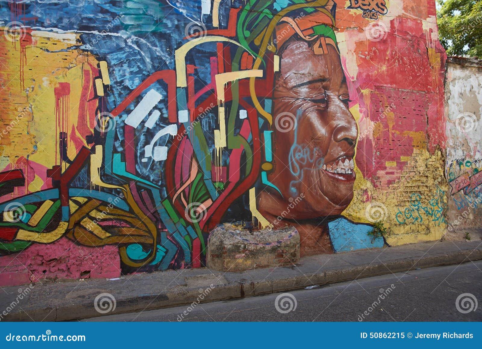 Art de rue de Carthagène