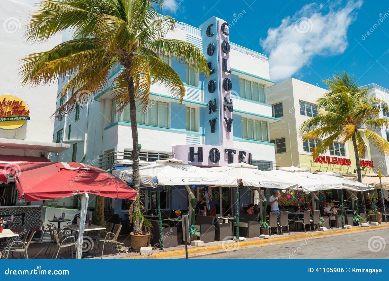 South Beach Miami Advertisements
