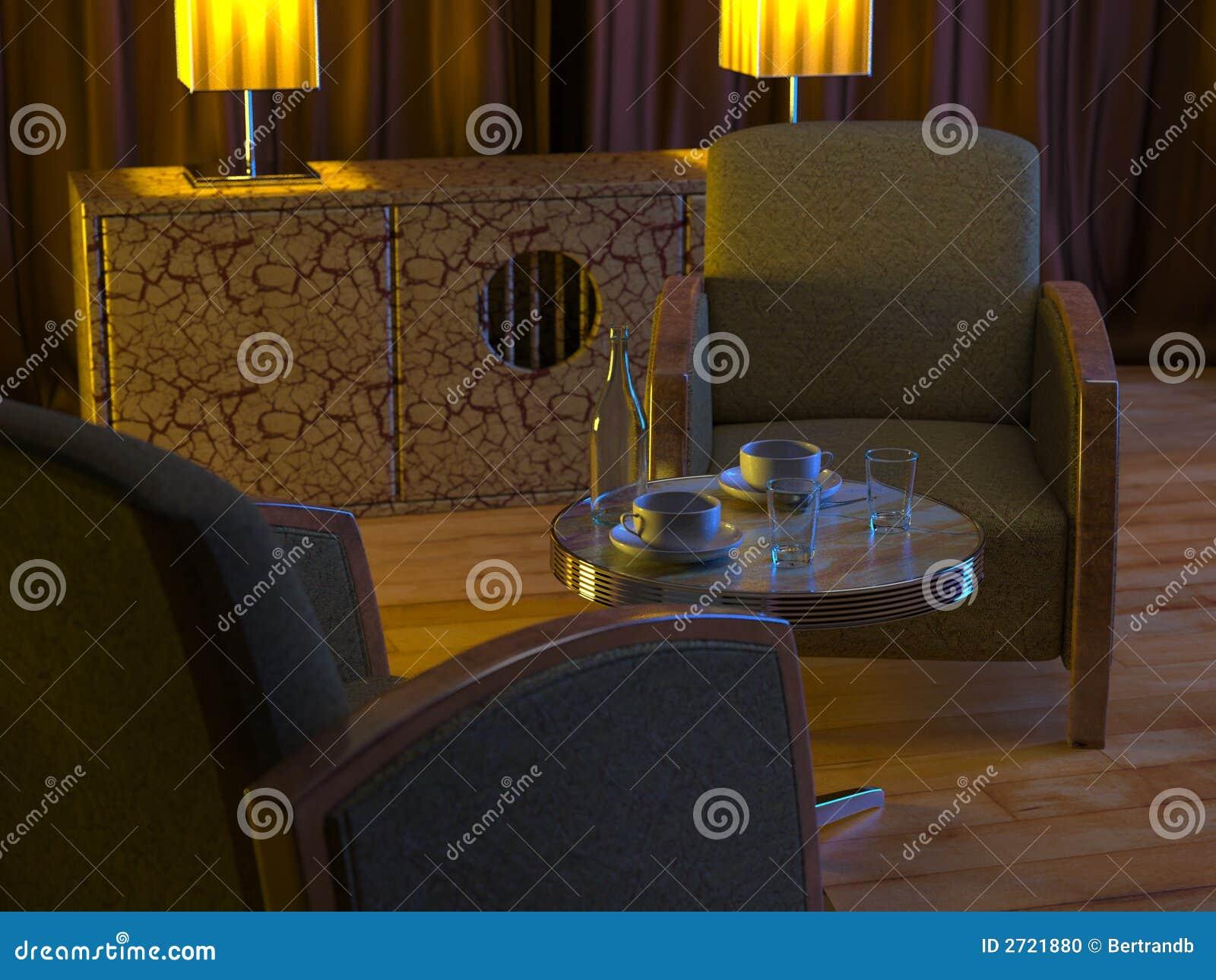 Art Deco Asia Interior