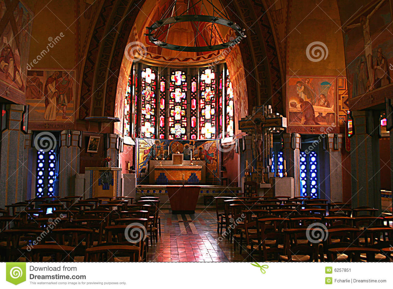 Art deco church stock image image of arts religion for Deco francaise