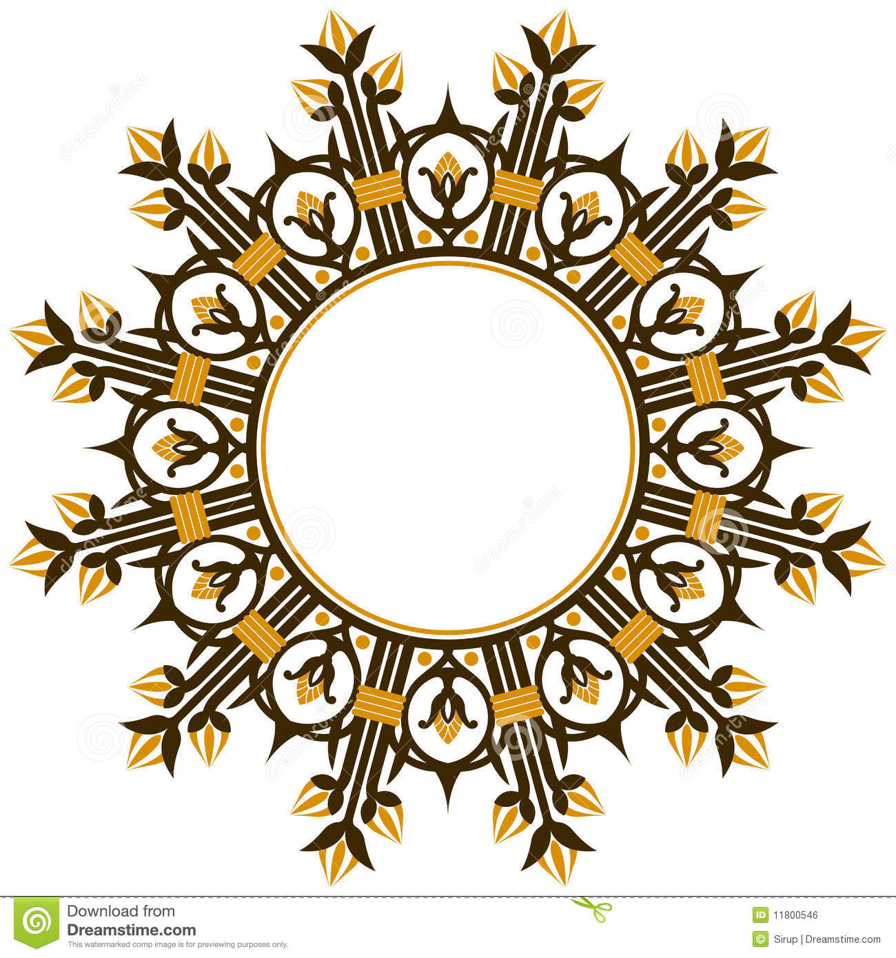 Art Deco Design Element Border Royalty Free Stock Image Image