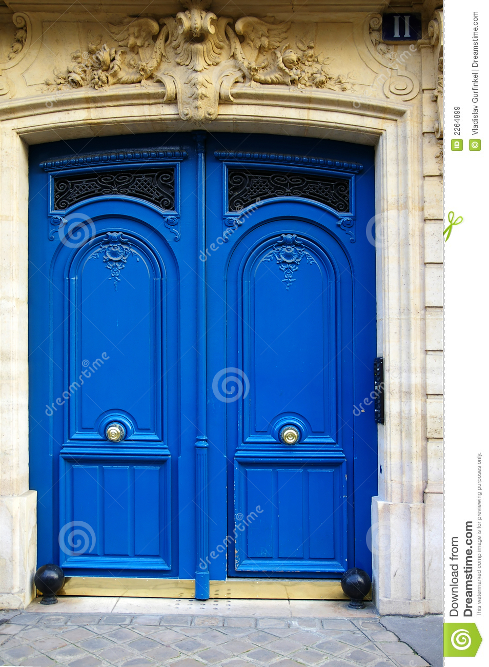 art deco door stock image image of exit closed ornate