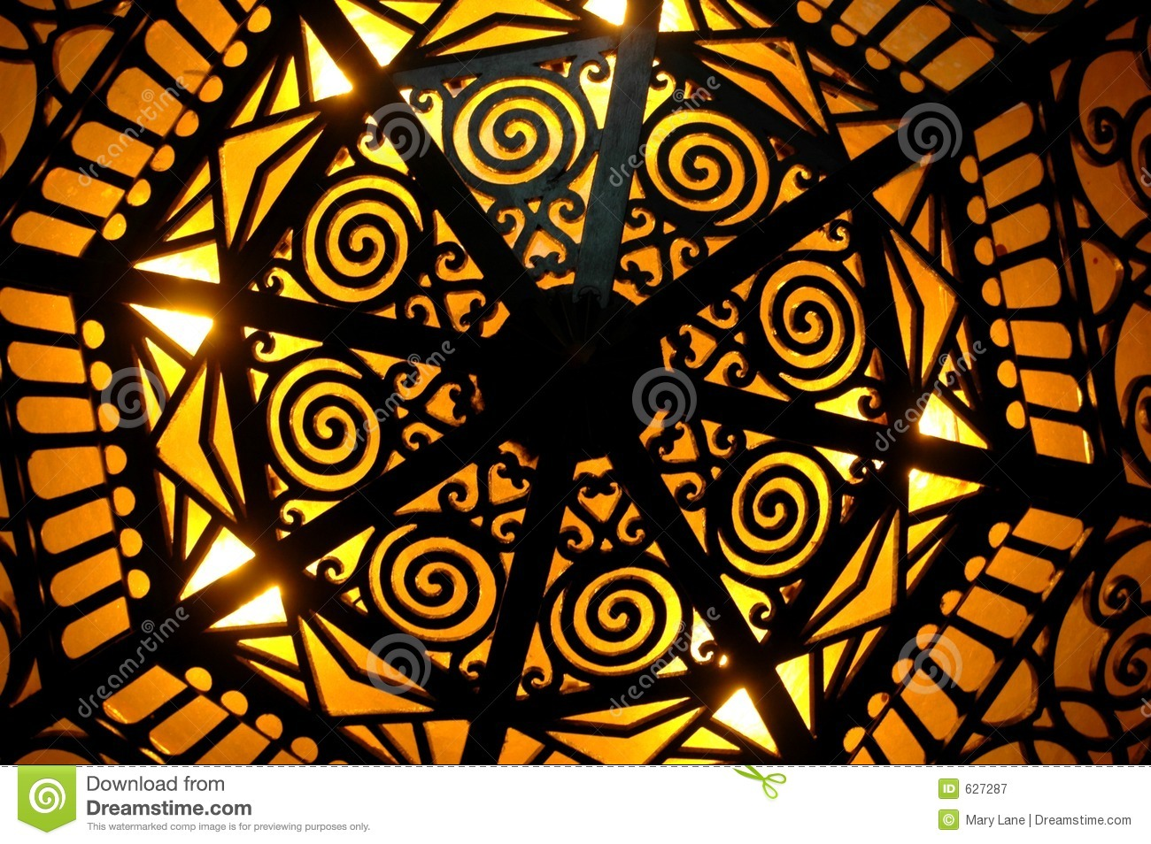 Art Deco Lighting Royalty Free Stock Photography - Image: 627287
