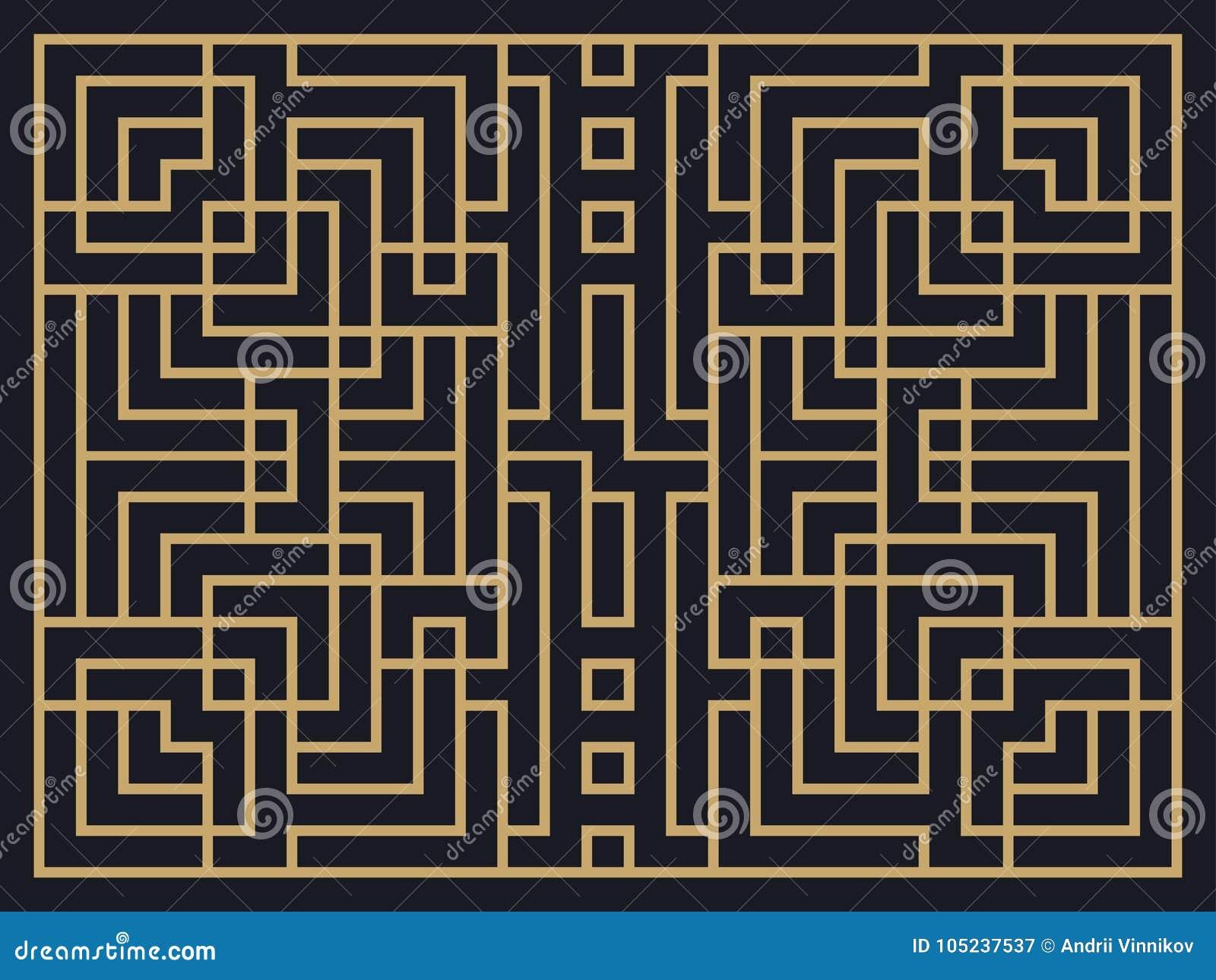 Art Deco Linear Pattern Diseñe una plantilla para las invitaciones, los prospectos y las tarjetas de felicitación