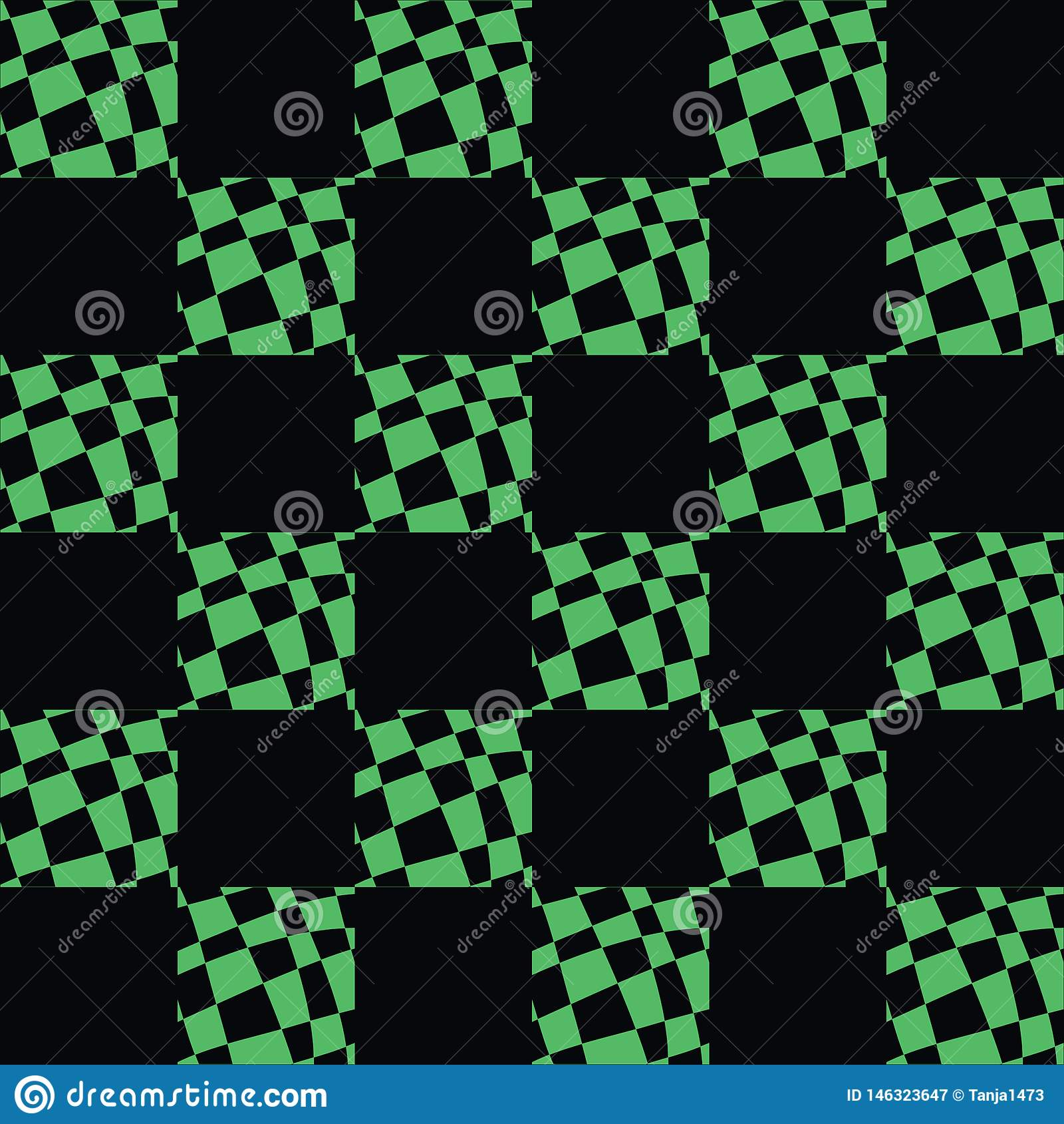 Art Deco Pattern Of Geometric Elements. Seamless Pattern. Vector Illustration. Design For Printing, Presentation