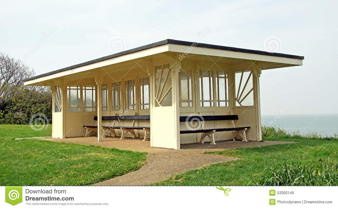 Art Deco Period Shelter Stock Image Of Feature