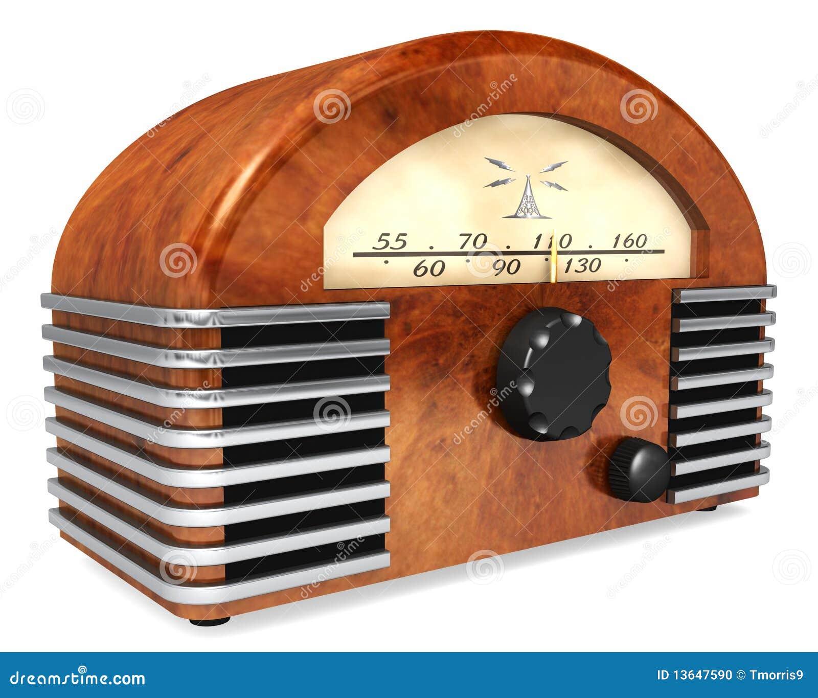 Art-Deco Radio