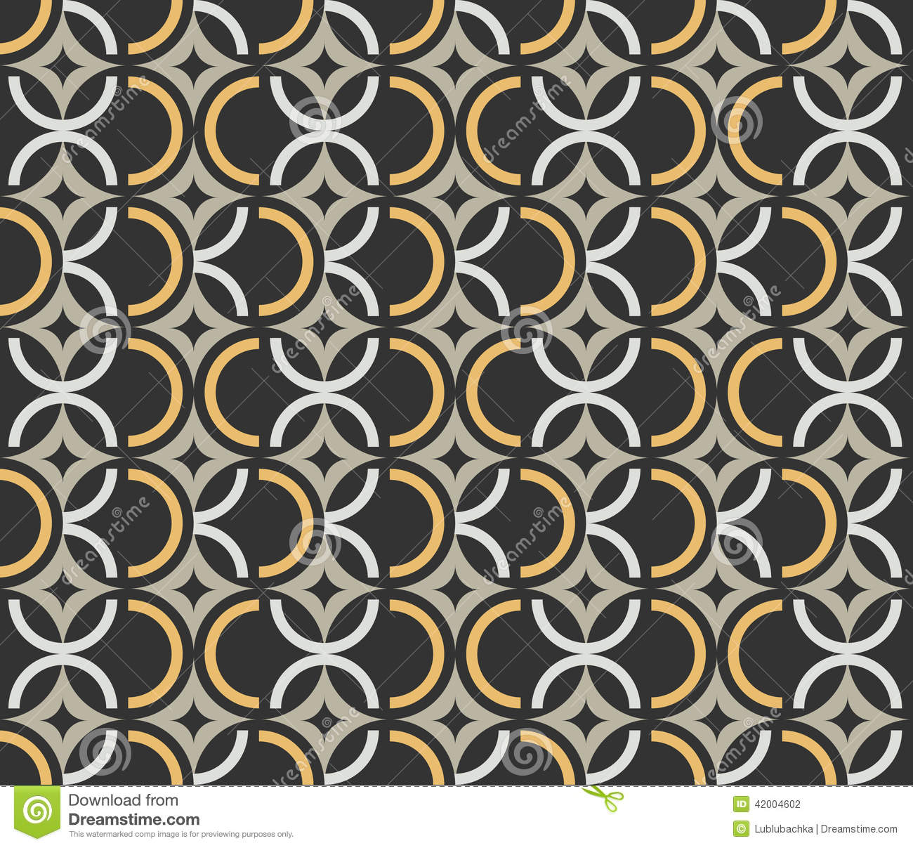 art deco seamless vintage wallpaper pattern stock vector. Black Bedroom Furniture Sets. Home Design Ideas