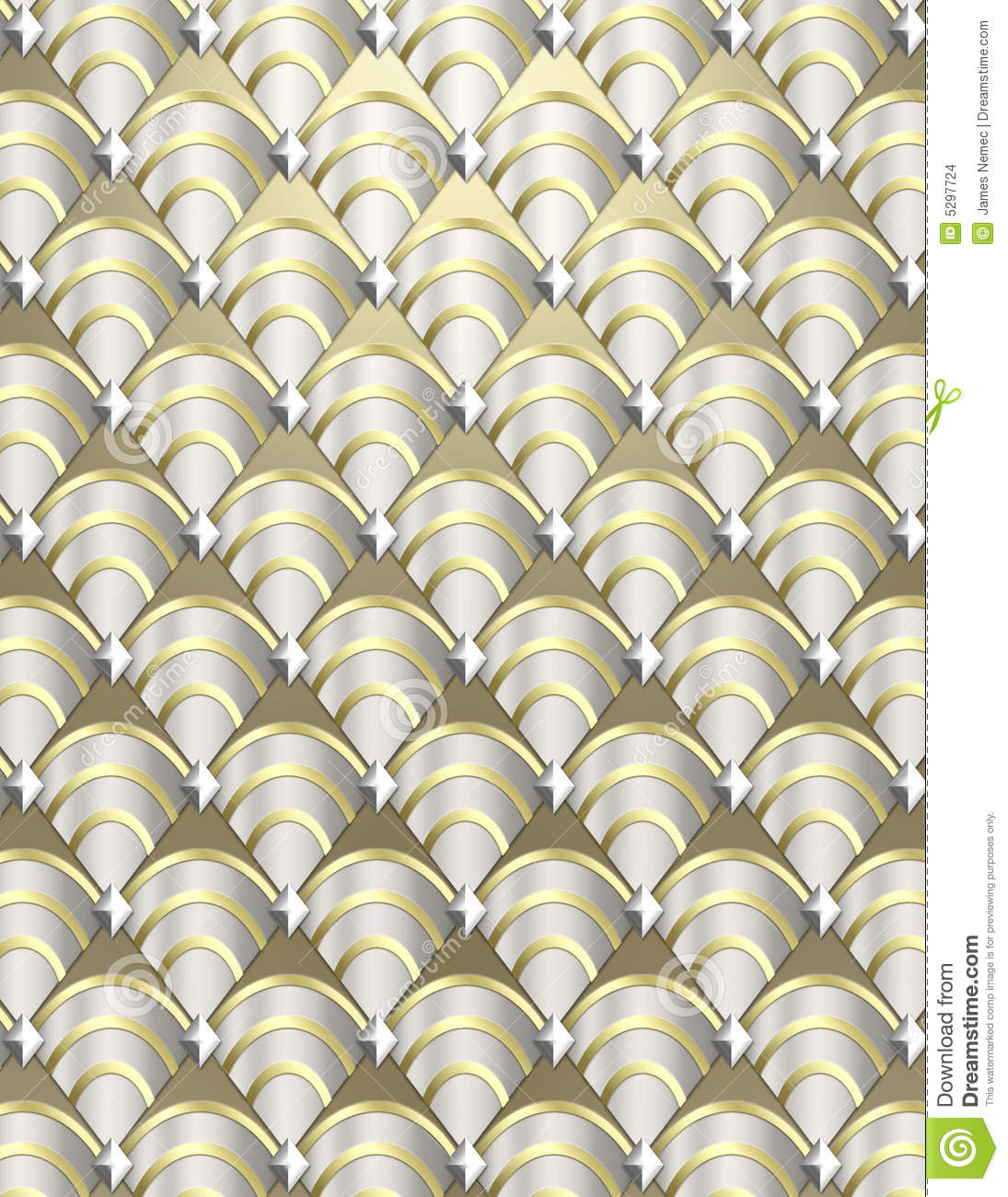 Art Deco Shell Background Stock Images Image 5297724