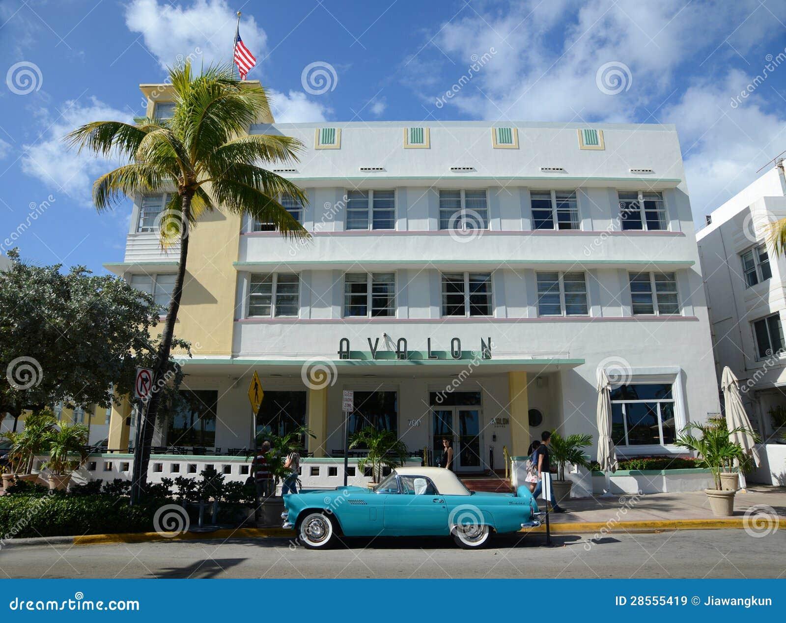 Art Deco Hotels Miami Beach History